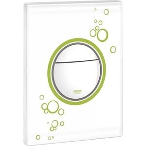 Кнопка смыва Grohe Nova Cosmopolitan белый с зеленым (38847LS0)