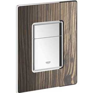 Кнопка смыва Grohe Skate Cosmopolitan деревянная поверхность макассар (38849HR0)