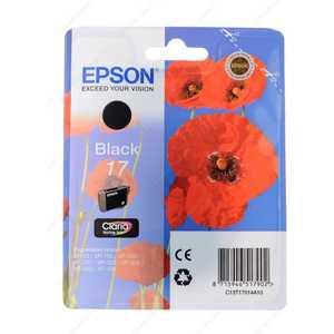 Картридж Epson black XP33/203/303 (C13T17014A10) цена
