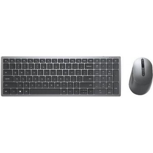 Беспроводной комплект клавиатура и мышь Dell multi-device wireless keyboard and mouse combo KM7120W