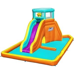 Водный игровой-центр Bestway 565х373х265см Tidal Tower с разбрызгивателем и горкой, до 327кг, от 5 лет