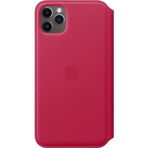 Чехол Apple iPhone 11 Pro Max Leather Folio Raspberry (MY1N2ZM/A)