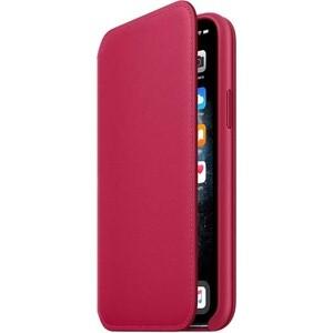 Чехол Apple iPhone 11 Pro Leather Folio Raspberry (MY1K2ZM/A)