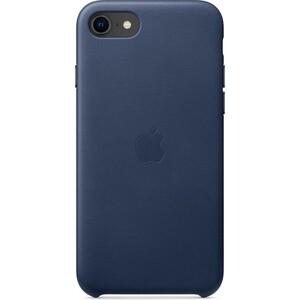 Чехол Apple iPhone SE Leather Case, Midnight Blue (MXYN2ZM/A)