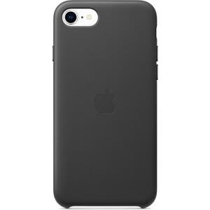 Чехол Apple iPhone SE Leather Case, Black (MXYM2ZM/A)