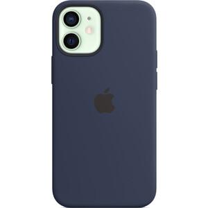 Чехол Apple iPhone 12 mini Silicone Case with MagSafe, Deep Navy (MHKU3ZE/A)