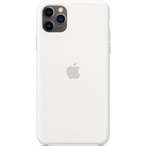 Чехол Apple iPhone 11 Pro Max Silicone Case, White (MWYX2ZM/A)
