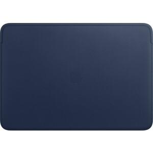Чехол Apple Leather Sleeve for 16-inch MacBook Pro, Midnight Blue (MWVC2ZM/A) чехол apple leather sleeve for macbook pro 16 mwv92zm a saddle brown