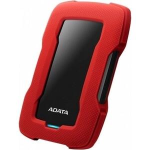 Жесткий диск A-Data USB 3.0 2Tb AHD330-2TU31-CRD HD330 DashDrive внешний жесткий диск hdd a data usb 3 0 2tb ahd330 2tu31 cbl hd330 dashdrive durable 2 5 синий