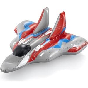Надувная игрушка-наездник Bestway 136х135см Галактический Корабль с ручками, до 45кг, от 3 лет