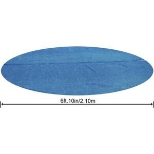 Солнечное покрывало для бассейна Bestway Fast Set 244 см (диаметр 206 см)