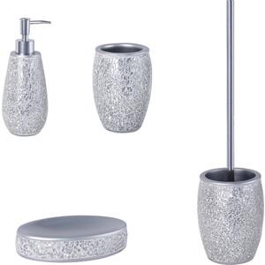 Набор аксессуаров Fixsen Snow 5 предметов, серебро