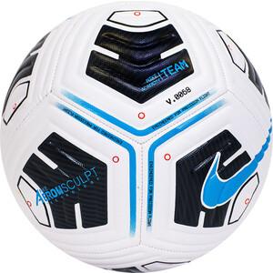 Мяч футбольный Nike Academy Team Ball, CU8047-102, р.5, 12 панелей, IMS, ТПУ, маш. сш, бело-черно-голубой