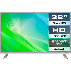 LED Телевизор Prestigio PTV32SS04ZCISML серебристый