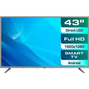 LED Телевизор Prestigio PTV43SS04YCISML серебристый