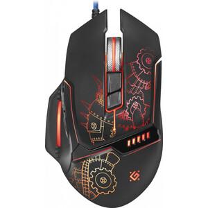 Мышь Defender Kill'em All GM-480L оптика, 8кнопок, 3200dpi (52480)