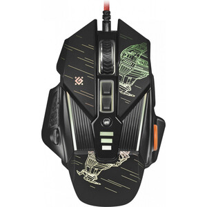 Мышь Defender sTarx GM-390L оптика, 8кнопок, грузики, 3200dpi (52390)