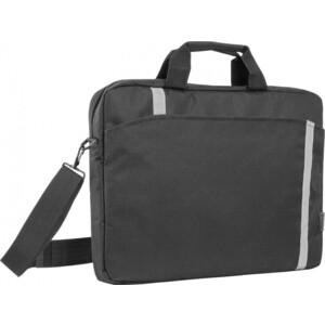 Сумка для ноутбука Defender Shiny 15-16 черный, светоотражающая полоса (26097)