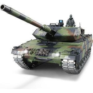 Радиоуправляемый танк Heng Long German Leopard II A6 масштаб 1:16 2.4G - 3889-1 V7.0