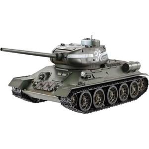 Радиоуправляемый танк Heng Long Russia T34-85 масштаб 1:16 2.4G - 3909-1 V7.0