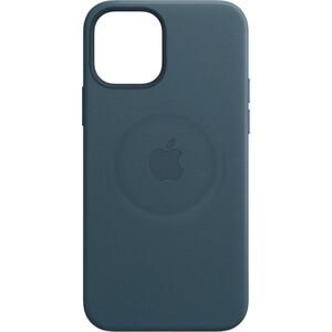 Чехол Apple для iPhone 12 mini Leather Case with MagSafe - Baltic Blue