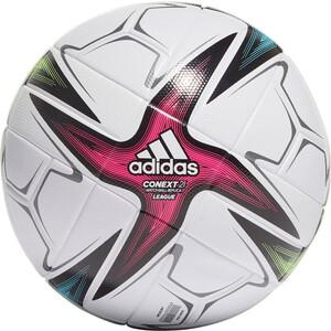 Мяч футбольный Adidas Conext 21 Lge арт. GK3489, р.5, 6 пан, FIFA Quality, ТПУ, термосш., бело-синий