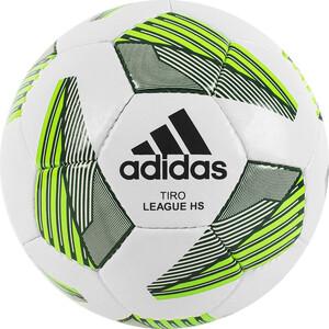 Мяч футбольный Adidas Tiro Match League HS арт. FS0368, р.5, IMS, ТПУ, 32 пан., руч.сш., бело-зеленый