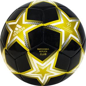Мяч футбольный Adidas UCL Club Ps арт. GT7790, р.5, ТПУ, 12 пан., маш.сш., бело-черно-золотой