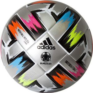 Мяч футбольный Adidas Uniforia Finale 20 Lge арт. FT8305, р.5, 8 пан, FIFA Quality, ТПУ, термосш, серебристый