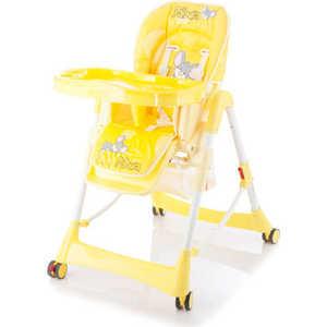 купить Стульчик для кормления Jetem Piero Fabula (желтый) дешево