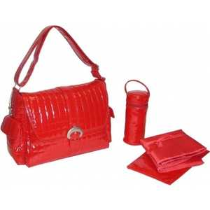 Сумка для мамы Kalencom Buckle bag monique (red)