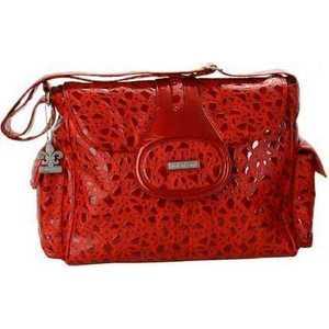 Сумка для мамы Kalencom Elite bag on the rocks (red) цена