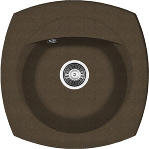 Кухонная мойка Florentina Корсика 510 коричневый FG (20.105.B0510.105) ремень для ружья vektor цвет коричневый регулирумая длина ширина 30 мм