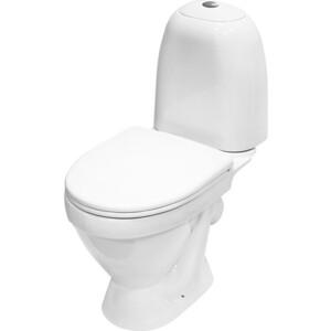 Унитаз компакт Sanita Виктория Комфорт с сиденьем микролифт (VICSACC01030711) унитаз компакт напольный sanita виктория комфорт