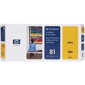 Печатающая головка HP N81 yellow (C4953A)