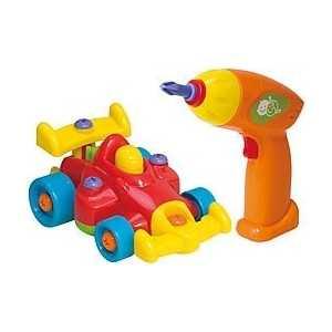лучшая цена Playgo Игровой набор юного механика с машиной Play 2002