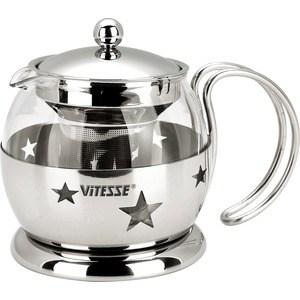Заварочный чайник Vitesse 0.7 л VS-8317 vitesse vs 8317