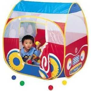 Игровой домик Calida Автомобиль и 100 шаров 654 палатки домики calida дом палатка 100 шаров космический корабль