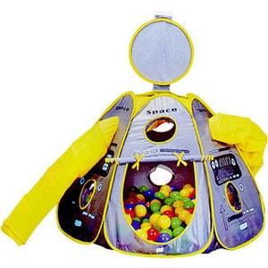 Игровой домик Calida Космический корабль и 100 шаров 665 палатки домики calida дом палатка 100 шаров космический корабль