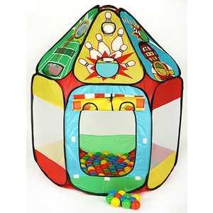 Игровой домик Calida Спорт и 150 шаров 678