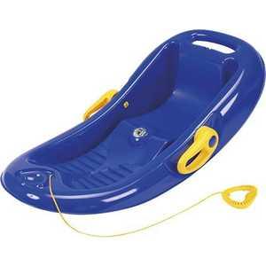 Корыто KHW Snow Flipper de Luxe (синий) с тормозом 26002