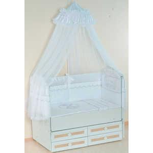 Комплект в кровать Сдобина Друзья 7 предметов (белый) 81