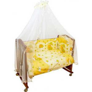 Фото - Комплект в кроватку Сонный Гномик Мишкин сон 7 предметов (бежевый) 703/4 комплект в кроватку 3 предмета сонный гномик умка бежевый