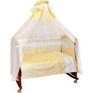 Купить со скидкой Комплект в кроватку Сонный Гномик ''Пушистик'' 7 предметов (бежевый) 710