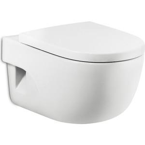 Унитаз подвесной Roca Meridian с сиденьем микролифт (346247000, 8012A2004) цена