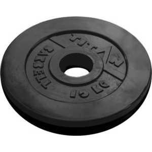 Диск обрезиненный Titan 51 мм 10 кг черный