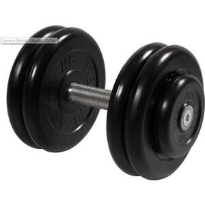 Гантель MB Barbell профессиональная Профи черная 23.5 кг