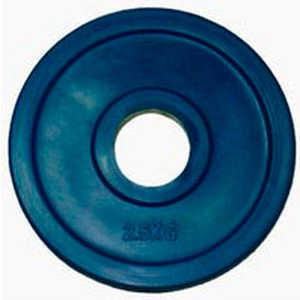 Диск обрезиненный Евро-Классик 51 мм 2.5 кг синий серия