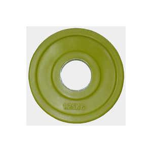 Диск обрезиненный Евро-Классик 51 мм 1.25 кг желтый серия Ромашка (Олимпийский)