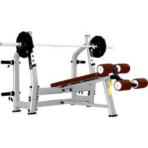 Cкамья для жима Bronze Gym J-024 с отрицательным наклоном